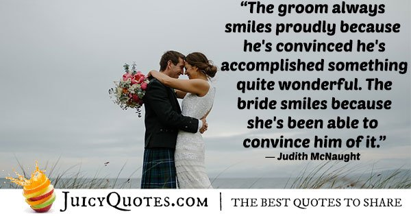 Silly Brides Quote