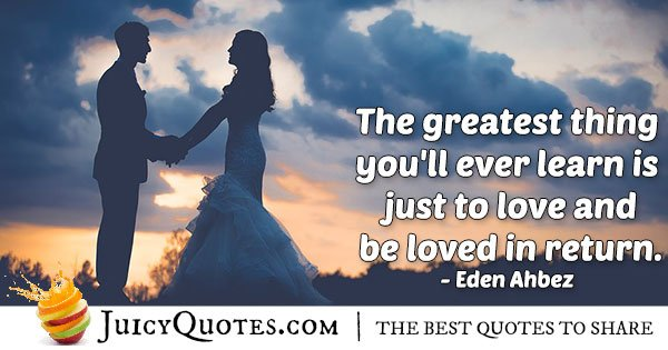 Greatest Gift Is Love Quote