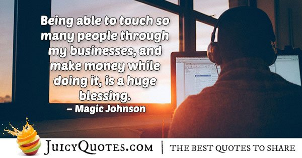 Help and Business Quote