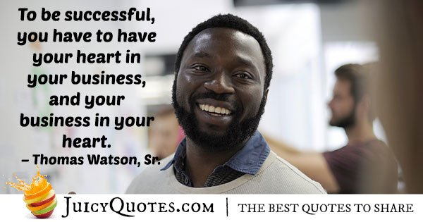 Success In Business Quote