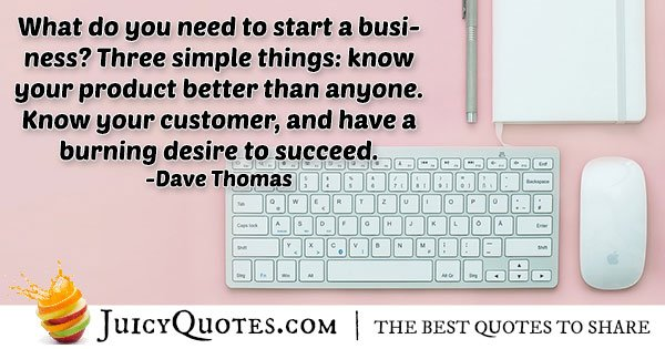 Starting A Business Quote
