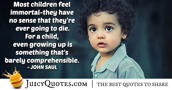 Immortal Children Quote