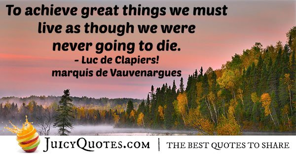 Never Dying Quote