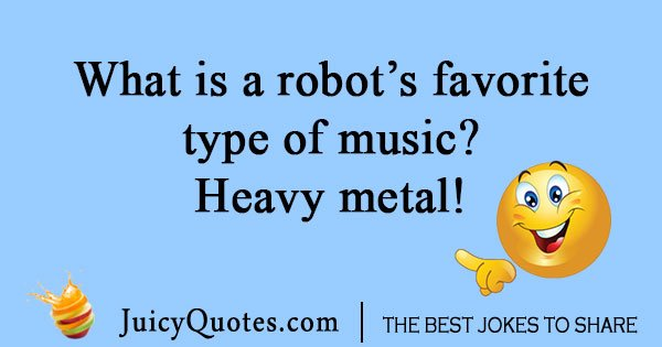 Robot Music Joke