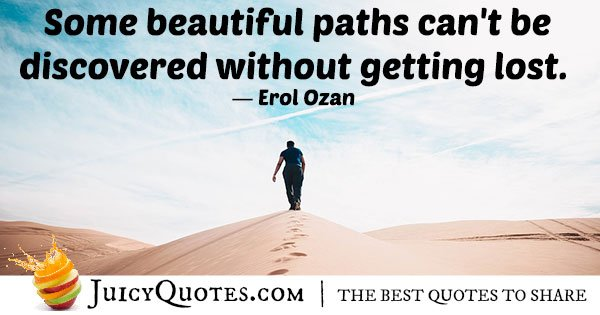 Beautiful Path Quote