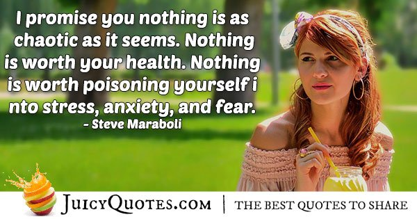 Quote about Anxiety and Fear