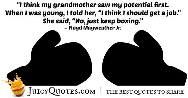 Keep Boxing Quote