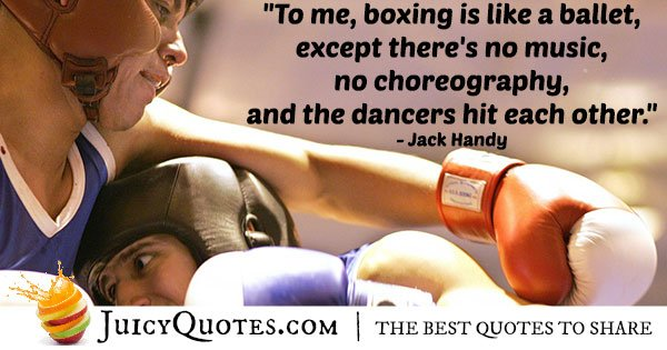 Funny Boxing Quote