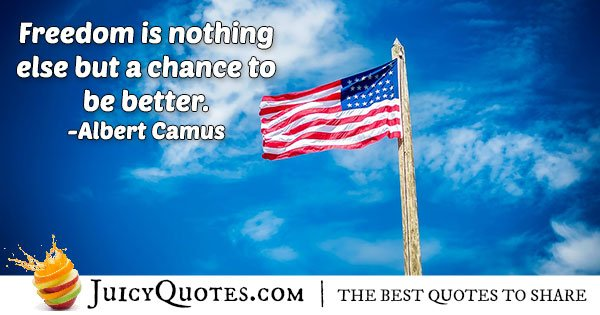 4th of July Chance Quote