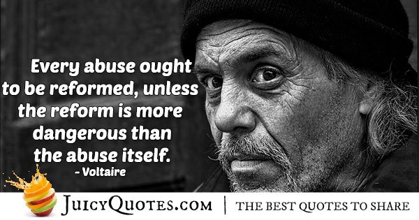 Abuse Reform Quote