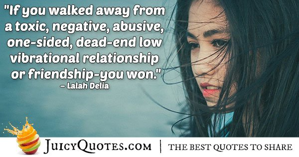 Walk Away From Abuse Quote