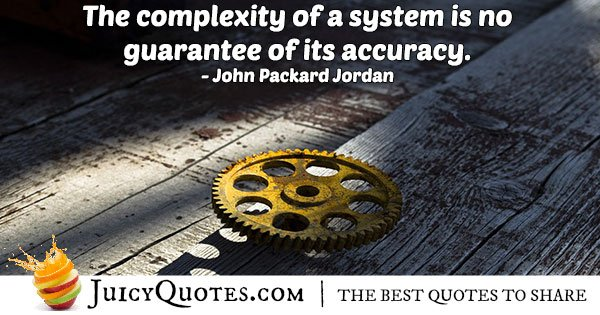 Complexity and Accuracy Quote