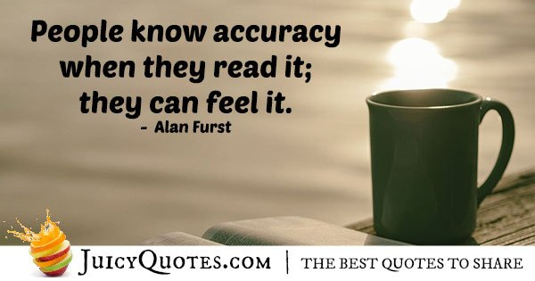 Know Accuracy Quote