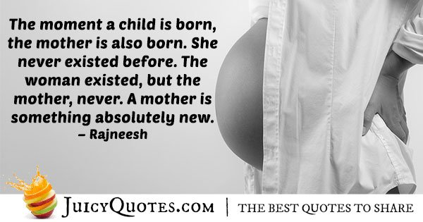 Child Birth Quote