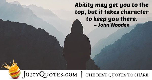 Ability and Achievement Quote