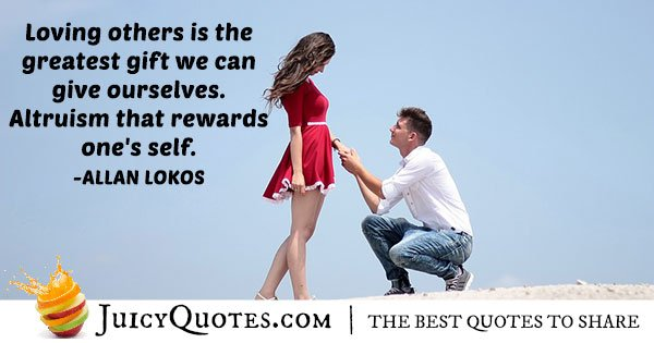 Altruism Rewards Quote