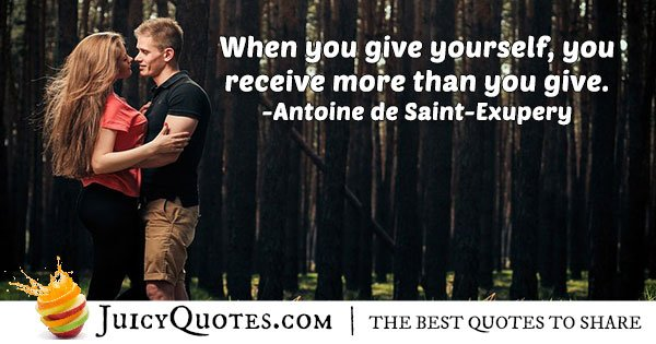 Altruism and Giving Quote