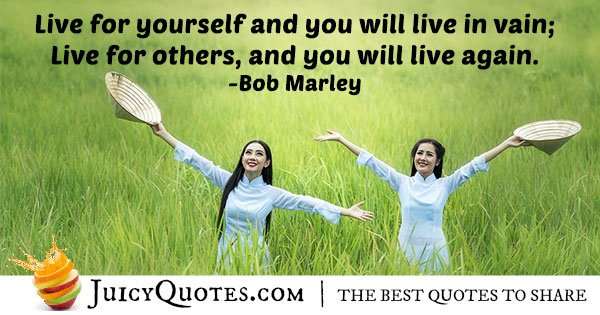 Live For Others Altruism Quote