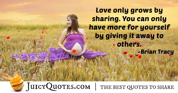 Sharing and Altruism Quote