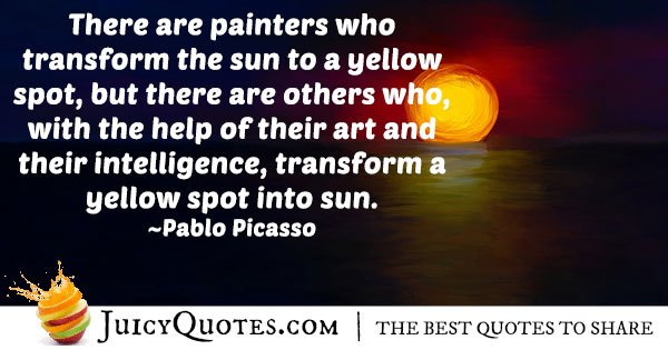 Painters and Art Quote