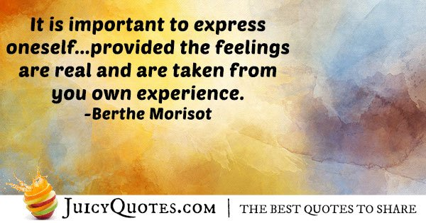 Art and Expression Quote - (With Picture)