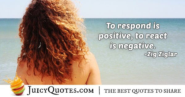 Positive and Negative Attitude Quote