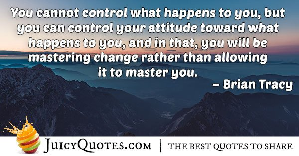 Attitude Towards Charge Quote