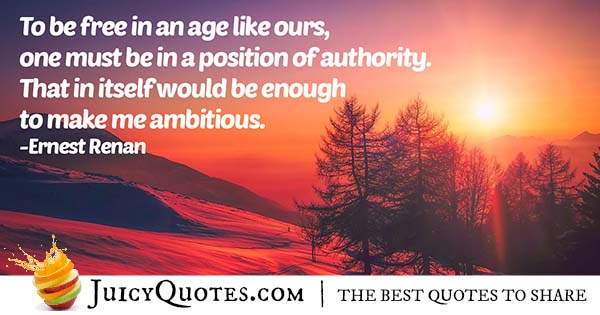 Position of Authority Quote