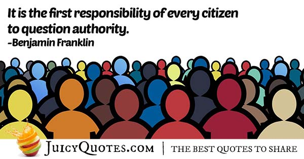 Question Authority Quote