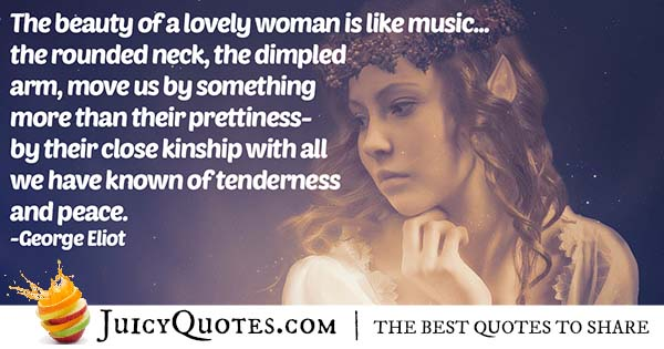 Beauty of a Woman Quote