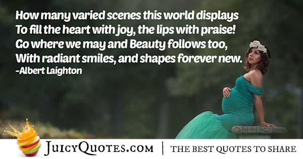 World of Beauty Quote