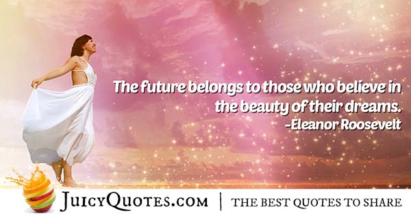 Beauty of Dreams Quote
