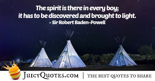 Spirit of Boy Scouts Quote
