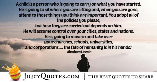 Importance of Children Quote