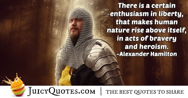 Acts of Bravery Quote