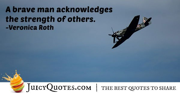 Strength of Others Quote