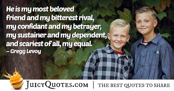 Quote About My Brother