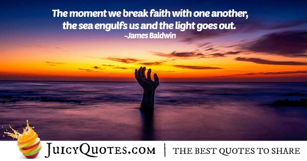 Faith and Brotherhood Quote