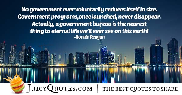 Government Programs Quote
