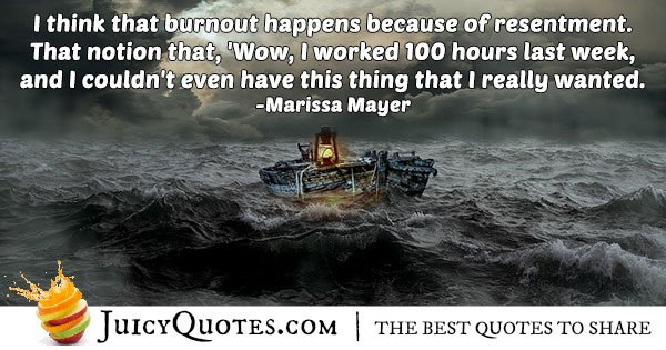 Reasons For Burnout Quote