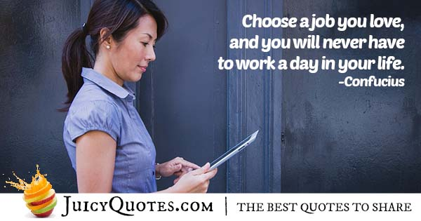Choosing A Career Quote