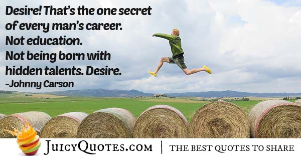 Secret About Careers Quote