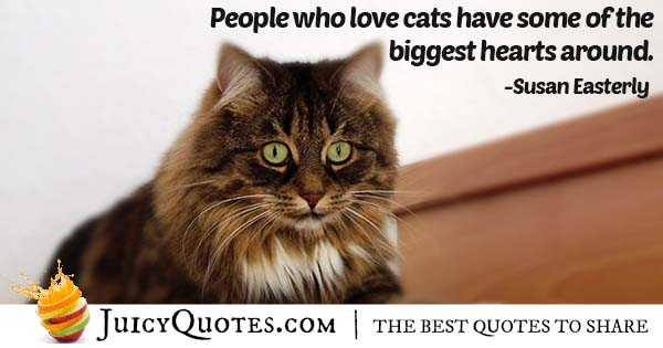 People With Cats Quote