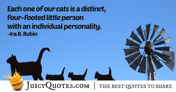 Cats Personality Quote