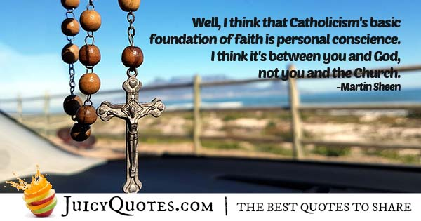 Catholicism Basics Quote