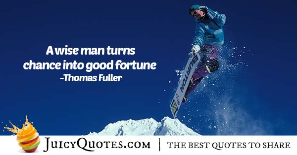 Chance and Fortune Quote