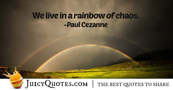 Living In Chaos Quote