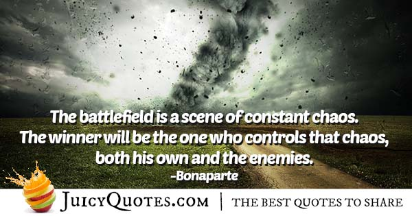 Controlling Chaos Quote
