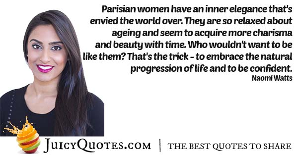 Persian Woman Charisma Quote