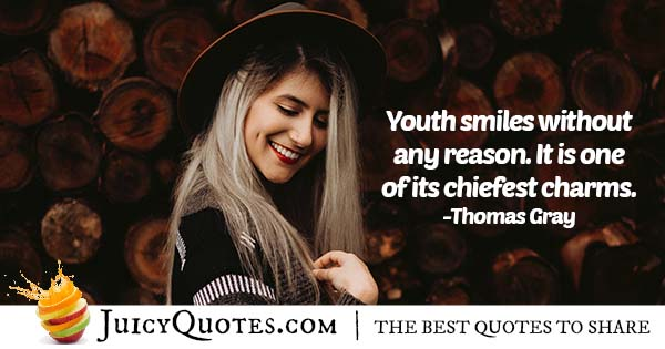 Charm of Youth Quote